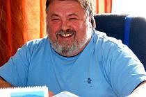 František Jílek, starosta Chodské Lhoty.