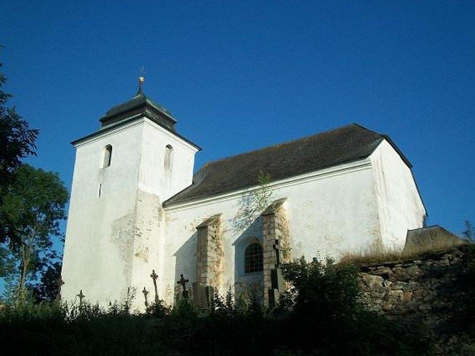 Kostel v Hoře Svatého Václava.