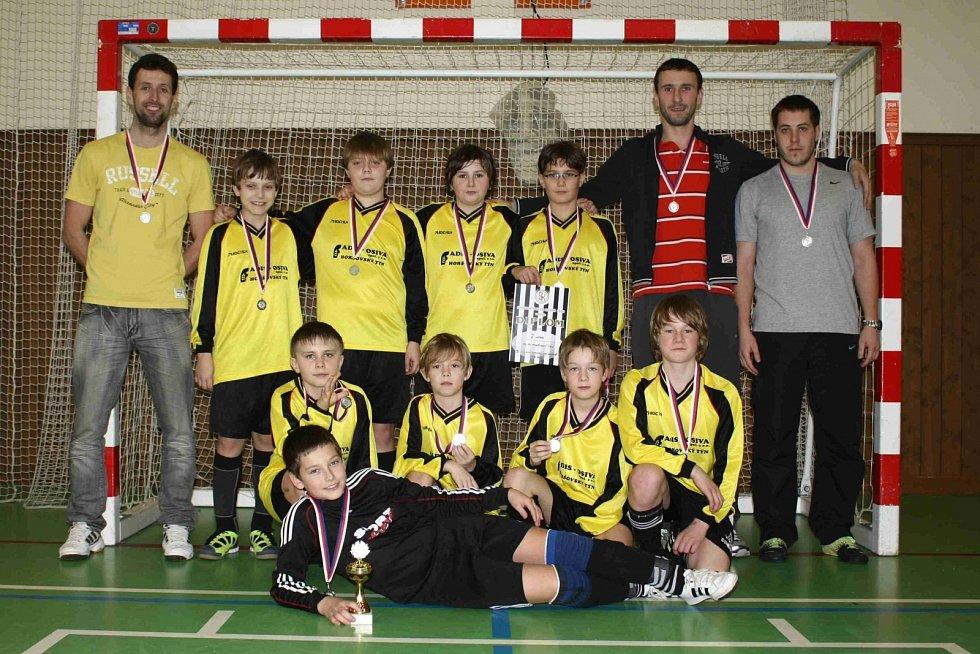 Turnaj mladších žáků ve Kdyni. FC Dynamo Horšovský Týn.