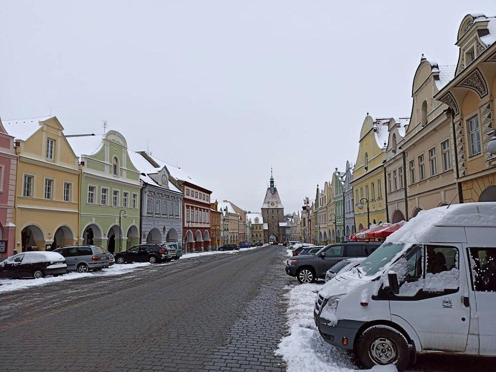 Centrum Domažlic.