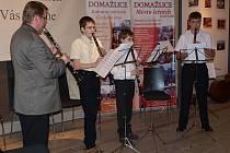 Z vystoupení žáků a učitelů ZUŠ Domažlice v Schönsee.
