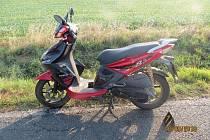 Motocykl měl propadlou technickou již čtyři roky.