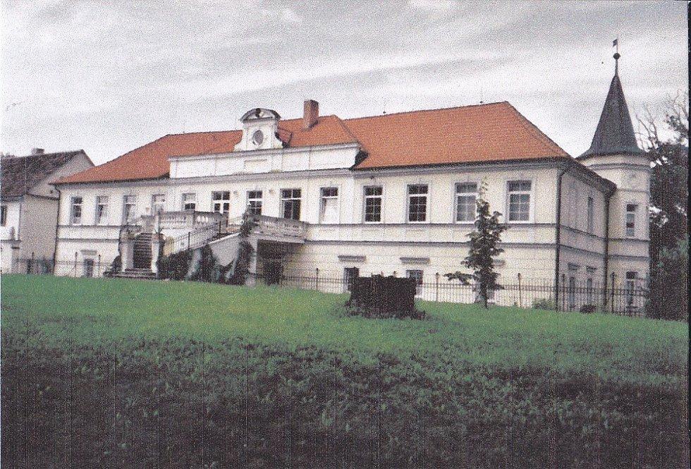 Pohled na zámek po rekonstrukci.