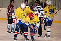 Z utkání Ice Barons Waldmünchen a Panther Stod.