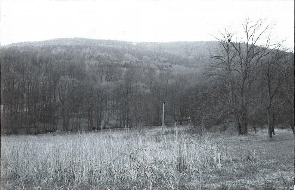Bystřice, pohled na stejné místo v roce 2005.