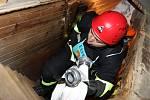 14. ročník extrémního závodu hasičů Výstup na domažlickou  věž.