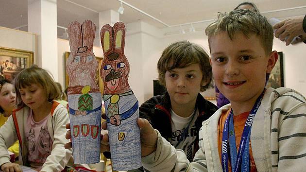 Velikonoční dílna Domina Domažlice v Galerii bratří Špilarů.