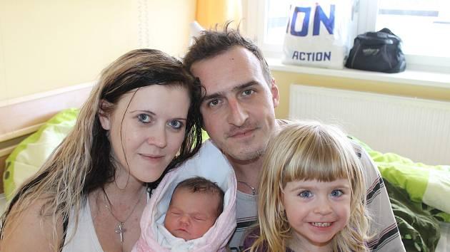Monika Mikulášková ze Starého Spálence se narodila v domažlické porodnici 10. února v 18:30. Její váha při narození byla 3 610 gramů a míra 49 centimetrů.