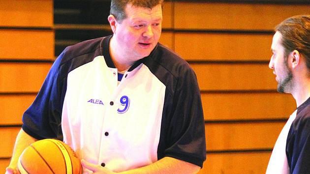 Basketbalista Jiskry Domažlice Josef Prettl.