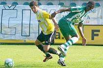 Za rezervu Bohemians 1905 nastoupil v utkání proti Jiskře Domažlice i Amadou Cissé.