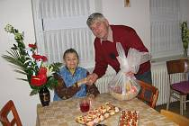 Alžběta Bernklauová ze Štichova oslavila v sobotu 96. narozeniny