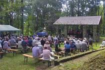 Součástí anenské pouti na Tanaberku byl i koncert slovenského operního pěvce Mateje Vaníka.