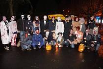 Z loňského Halloweenského průvodu ve Kdyni.