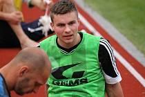 Fotbalový talent Petr Pokrovskij.