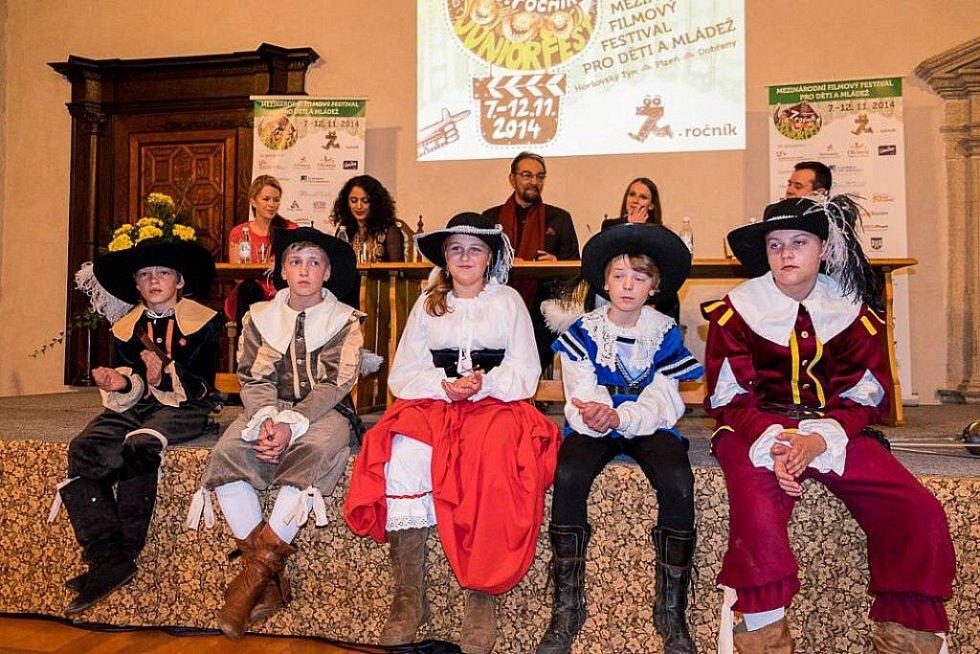 Juniorfest v Horšovském Týně.