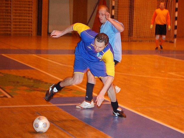 Z turnaje pořádaného futsalisty Švédské trojky v Domažlicích.