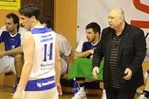 A-tým basketbalové Jiskry hraje o finále druhé ligy proti Radotínu