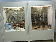 Výstava domažlických loutek v Bavorsku.