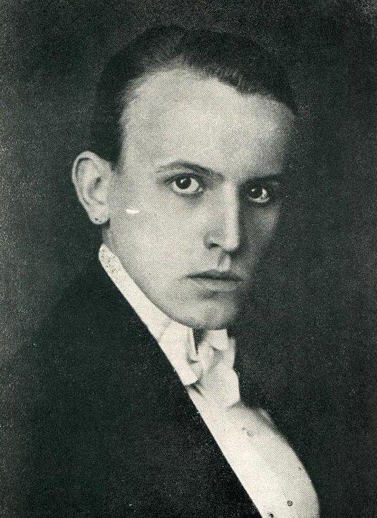 Zdeněk Bořek-Dohalský v době maturity.