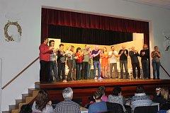 Předpremiéra hry Urologie proběhla vloni v říjnu v Kulturním domě v Kolovči. Účast diváků byla skutečně hojná.