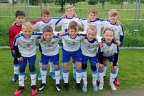 Jiskra Domažlice U11 vyhrála fotbalový miniturnaj v Plzni.