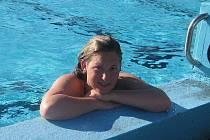 Plavkyně Barbora Picková.