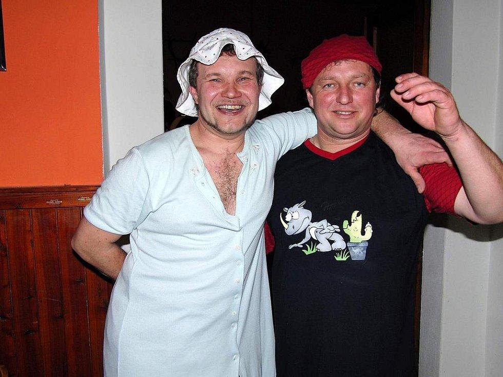 Míra Housar ml. a Jirka Vondraš.