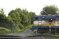 Železniční přejezd. Ilustrační  foto.