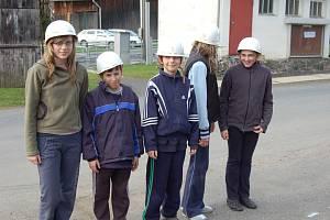 Mladí pocinovičtí hasiči