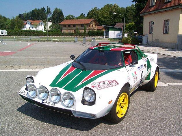 Krásná auta v bavorském příhraničí
