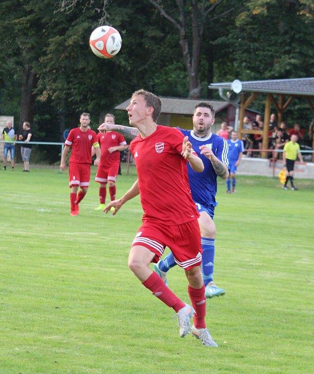 SK Krchleby 1921 - FK Tachov 1:7.