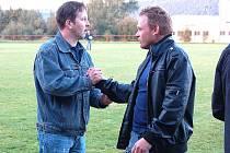 Chodské derby Postřekova s Chodovem svede proti sobě dva kamarády, trenéry Jindřicha Kapice a Jana Gibfrieda.