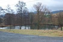 Mezholezský rybník.