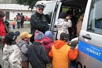 Akce Integrovaný záchranný systém dětemse koná na Podhájí u Horšovského Týna.