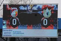 Z druhého osmifinále Poháru České pošty mezi Viktorií Plzeň a Jiskrou Domažlice.