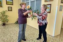 V domažlickém penzionu vystavuje výtvarnice Irena Hromádková