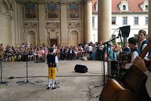 Ze čtvrteční prezentace Chodských slavností v Praze.