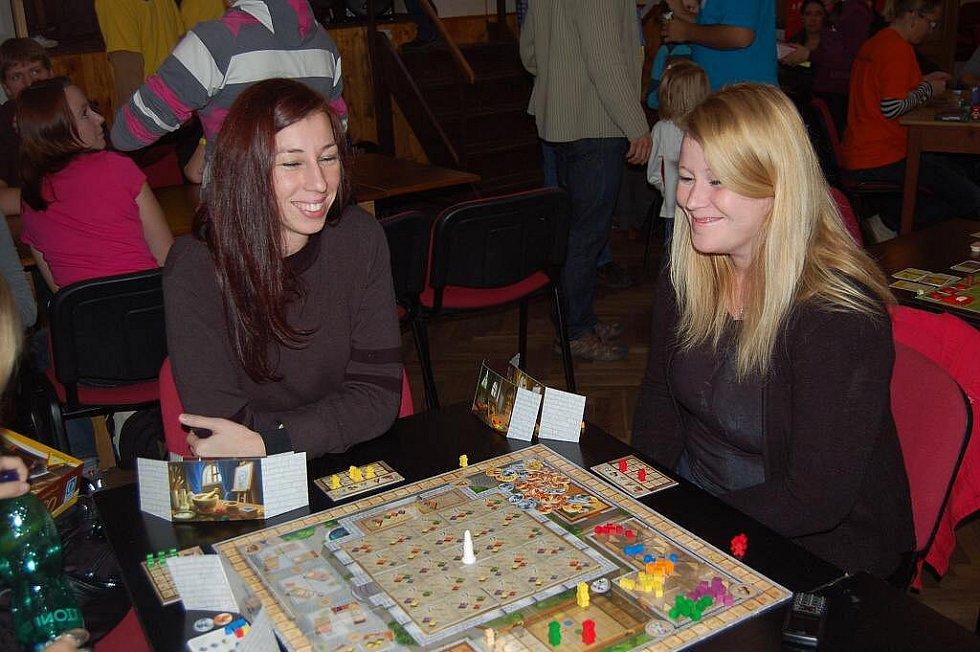 Festival deskových her v Osvračíně.