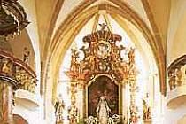 Kostel sv. Mikuláše ve Kdyni.