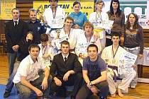 Snímek je ze III. ročníku Chodského poháru v karate.