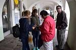 Domažličtí pionýři z PS Mír vybírali příspěvky v rámci Srdíčkového dne