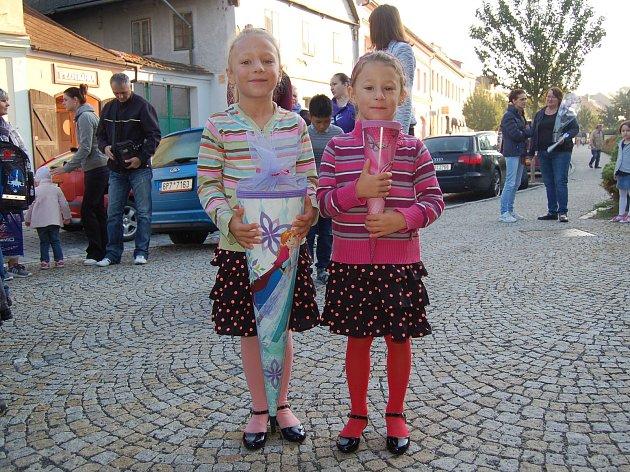 První školní den v Domažlicích.