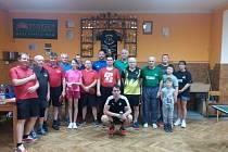 V Hluboké se uskutečnil devátý ročník turnaje ve stolním tenise.