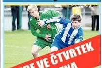 Fotbalové jaro 2013 - příloha Domažlického deníku.