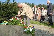 Vzpomínkové setkání u Všerubského památníku.