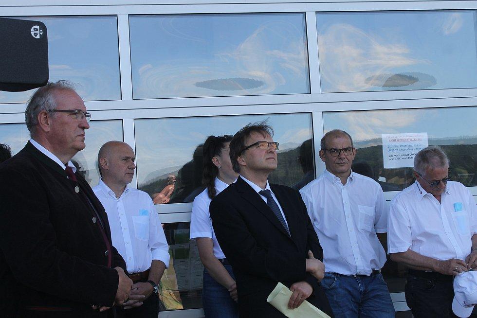 Slavnostní setkání k příležitosti 30 let od otevření hranic.