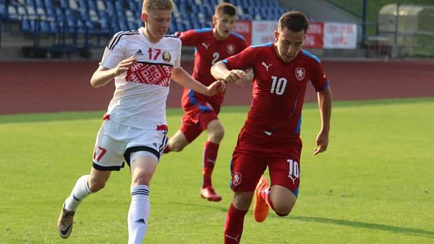 Česko U16 - Bělorusko U16 0:1 (0:1) - Domažlice 5.6.2018