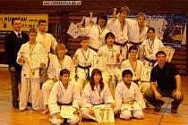 Ve Sportovní hale Jiskry Domažlice se konal turnaj v karate.