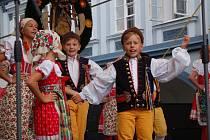 Z pořadu S dětmi na Chodsku. Chodské slavnosti 2018