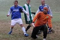 Z utkání futsalistů NC Nový Kramolín B a HSK Domažlice.